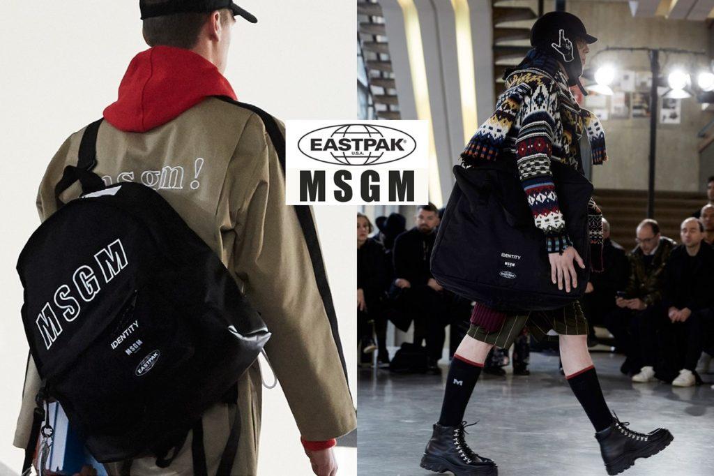 MSGM x Eastpak
