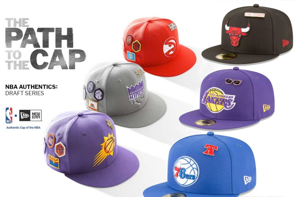 New Era NBA Authentics: Draft Series
