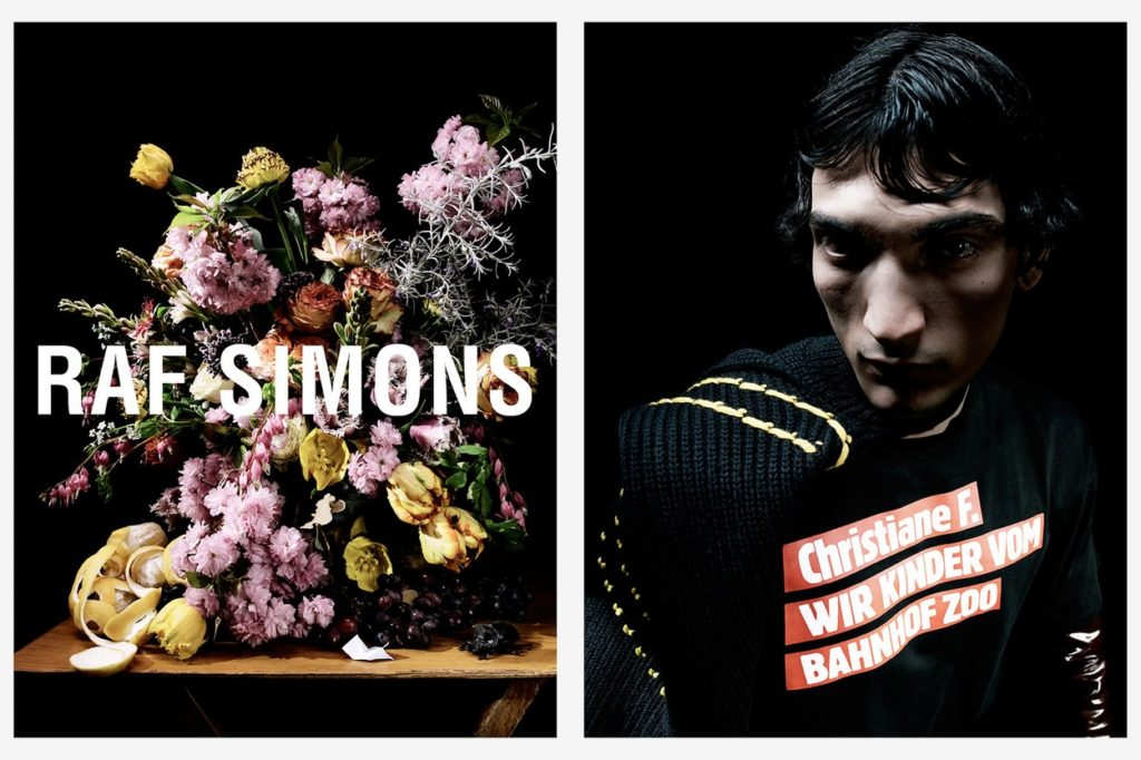 Campagne Raf Simons Automne/Hiver 2018