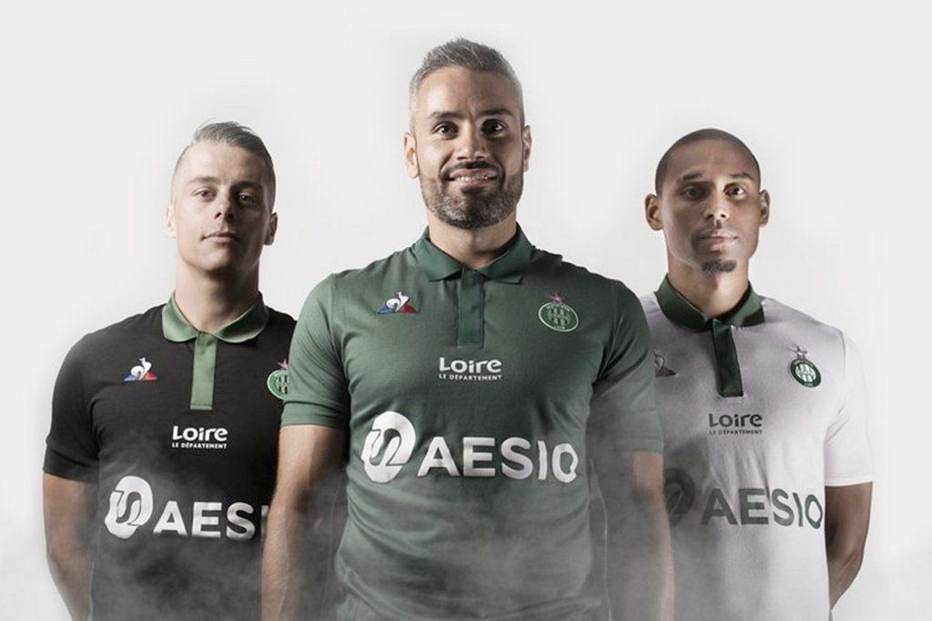 Maillots 2018/2019 AS Saint-Étienne x Le coq sportif