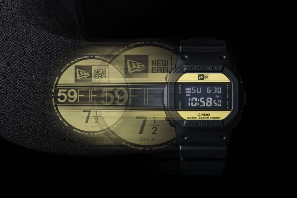 "New Era x G-Shock DW-5600NE-1 ""35th Anniversary"""