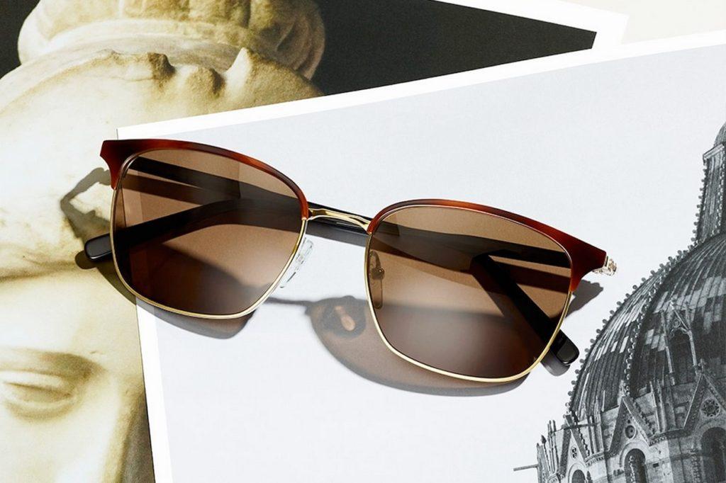 Salvatore Ferragamo capsule de lunettes homme