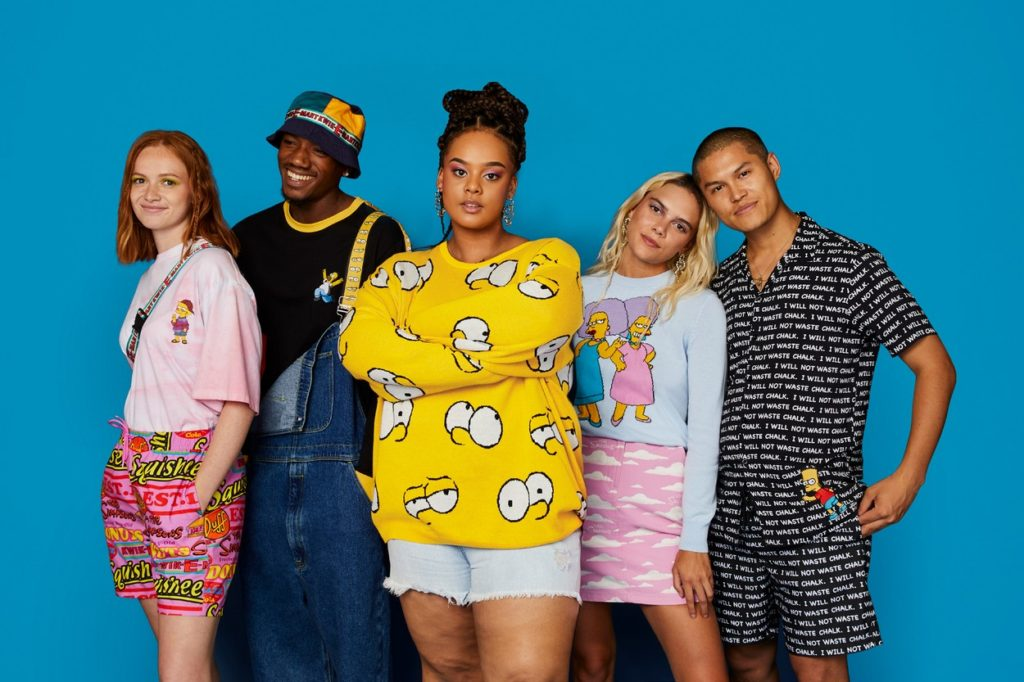 Collection ASOS x Les Simpsons