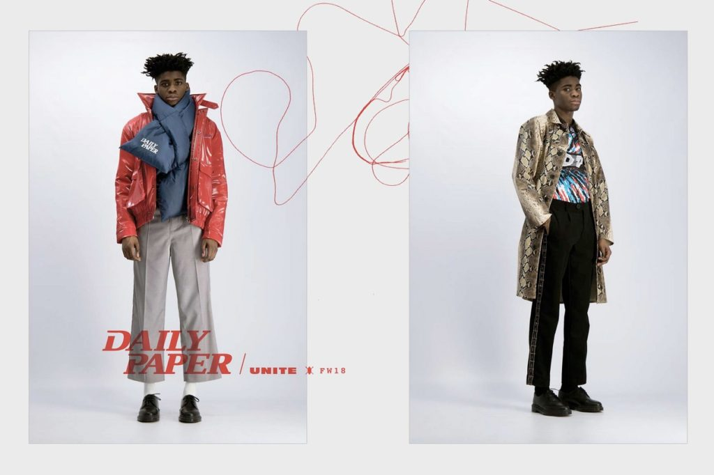 Lookbook Daily Paper Automne/Hiver 2018