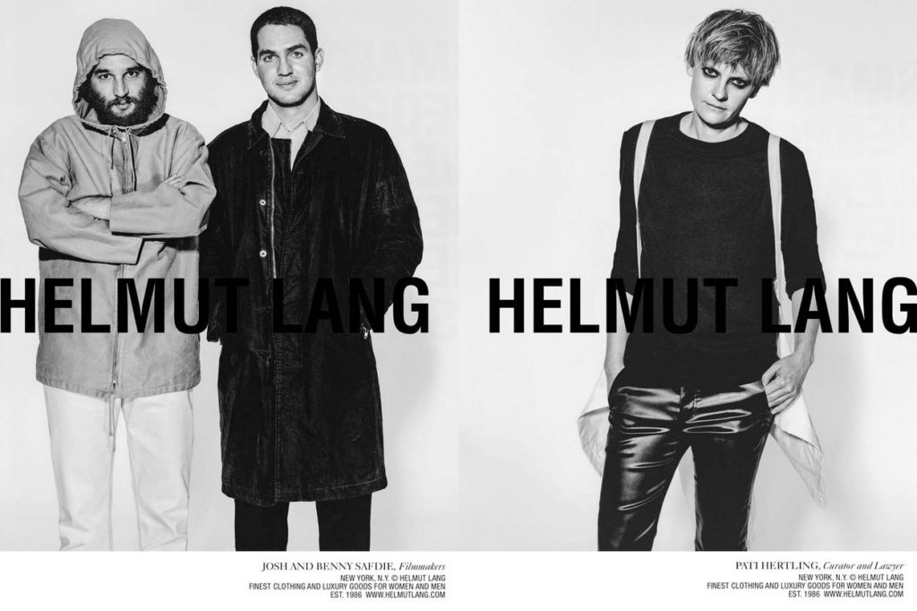 Campagne Helmut Lang Automne/Hiver 2018