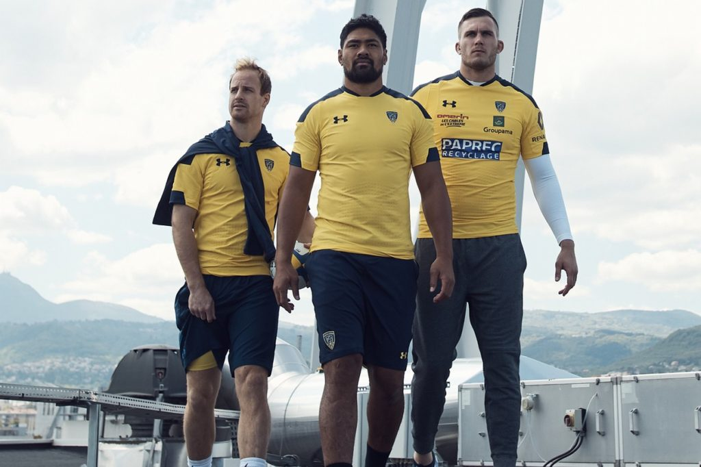 Under Armour x ASM Clermont Auvergne Rugby 2018/2019
