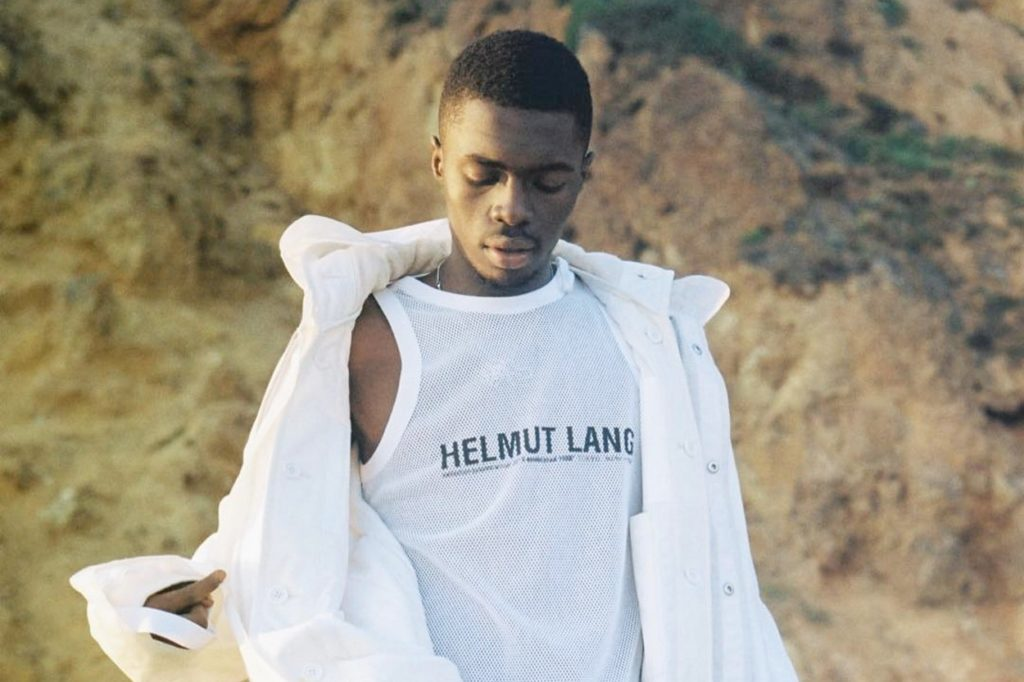 Campagne Helmut Lang Automne 2018 x Sheck Wes