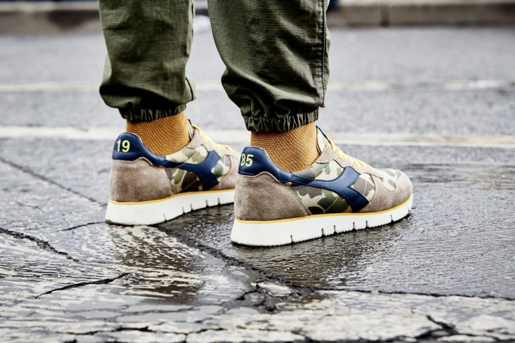 Collection capsule Diadora Heritage x Mark McNairy