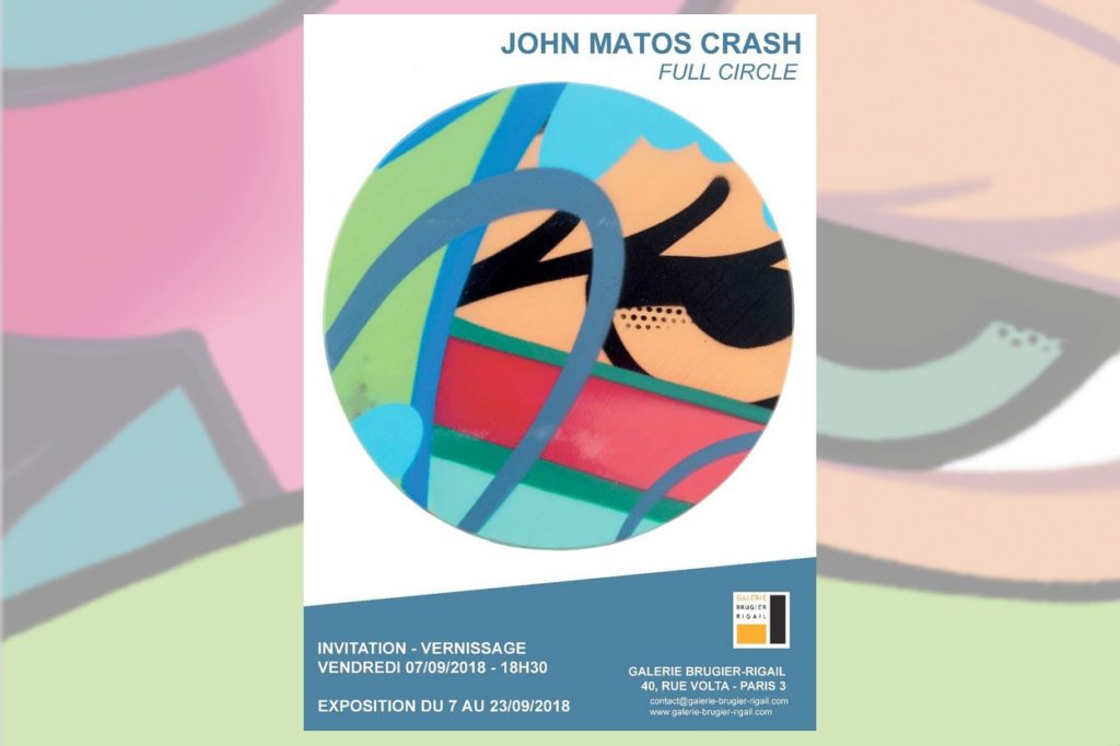 """Full Circle"" par John Matos Crash"