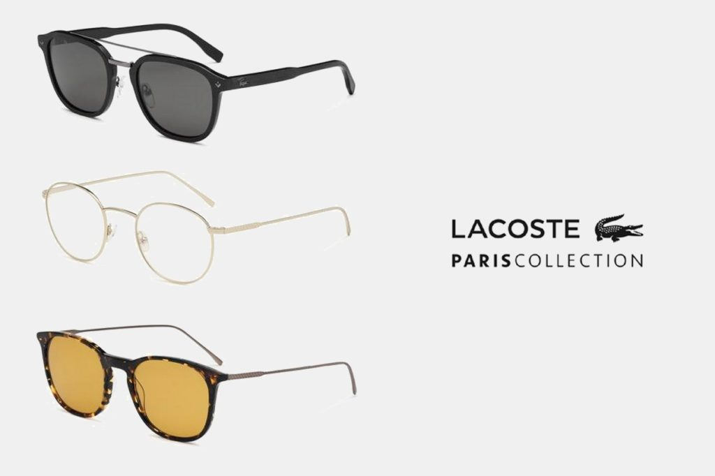 LACOSTE Eyewear présente Paris Collection