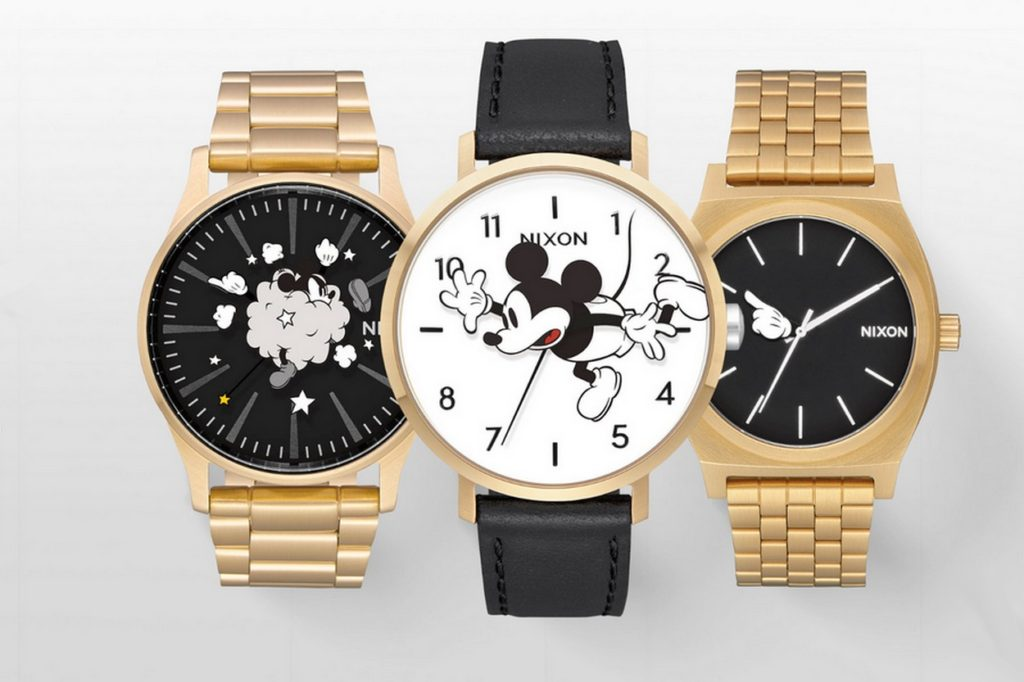 NIXON x Mickey Mouse 90Th Anniversary