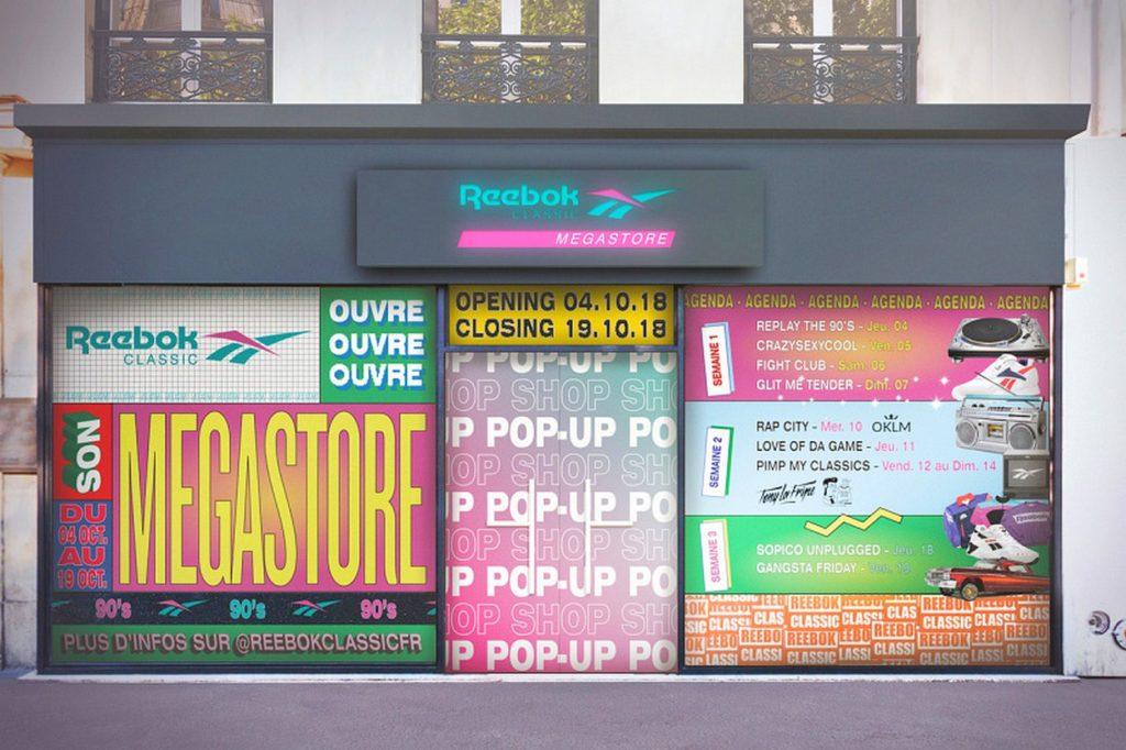 Reebok Classic Megastore Paris