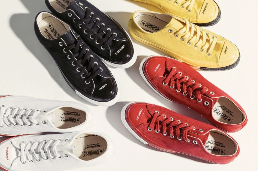 "Collection UNDERCOVER x Converse ""Order Disorder"""