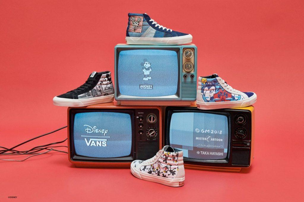 Vault by Vans x Disney 90ème anniversaire de Mickey Mouse
