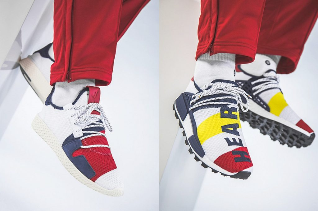 "BBC x Pharrell Williams adidas Originals NMD Hu ""Heart/Mind"""