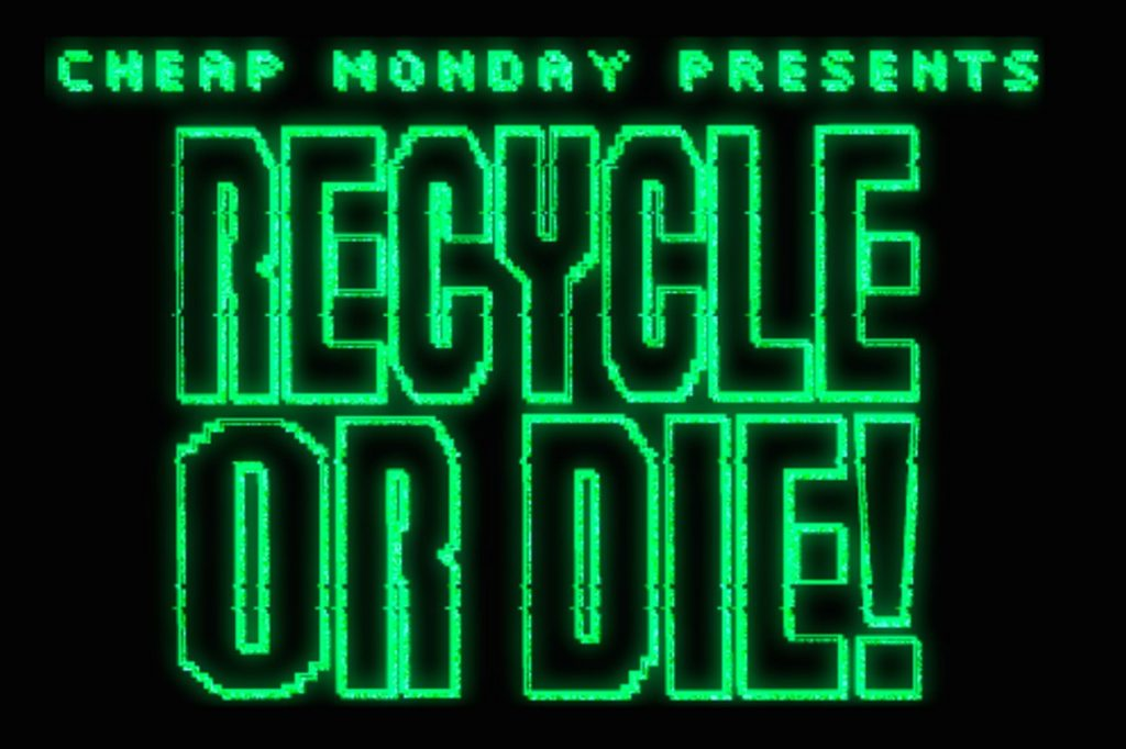 """Jeu d'arcade Cheap Monday """"Recycle or Die"""""""