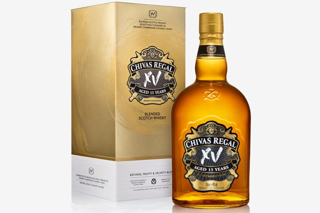 Chivas XV, le blended scotch whisky 15 ans d'âge