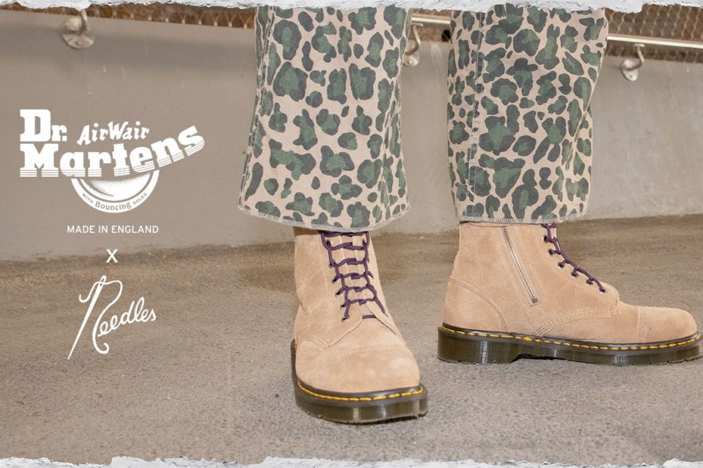 Collection capsule Dr. Martens x Needles
