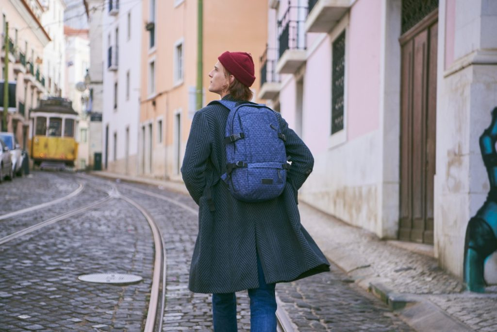 "Éditorial: ""A Day In Lisbon"" - Eastpak Automne/Hiver 2018"