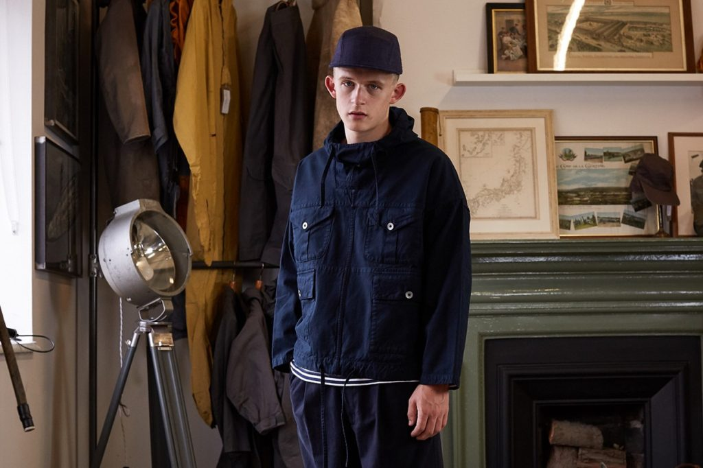 "END. x Nigel Cabourn ""British Army Smock"""