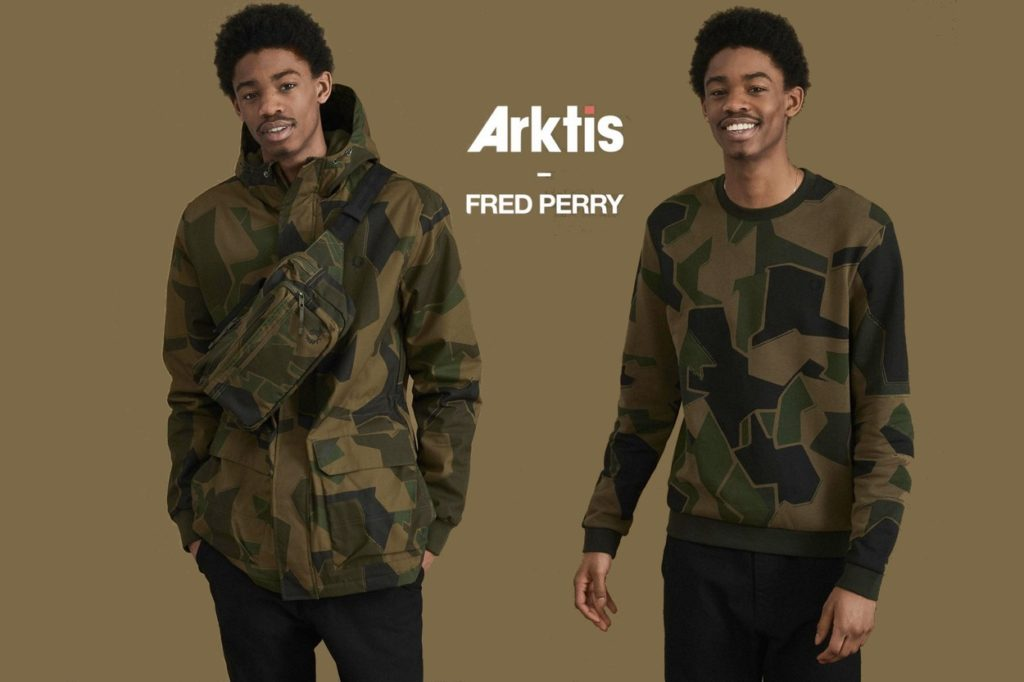 Fred Perry x Arktis