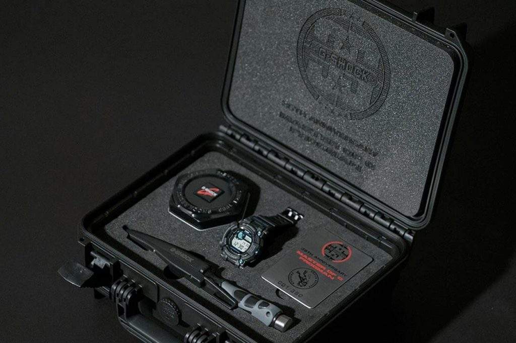 "Coffret collector G-Shock Frogman GWF-D1000B-1LTD ""35th Anniversary"""