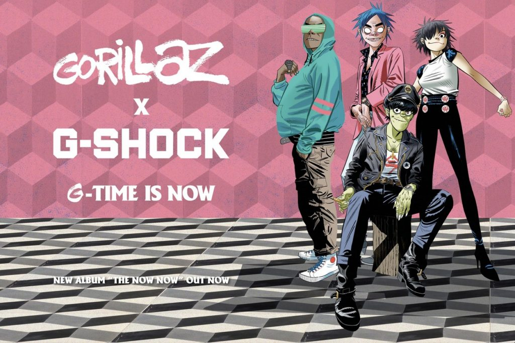 "Gorillaz x G-Shock ""G-Time is Now"""