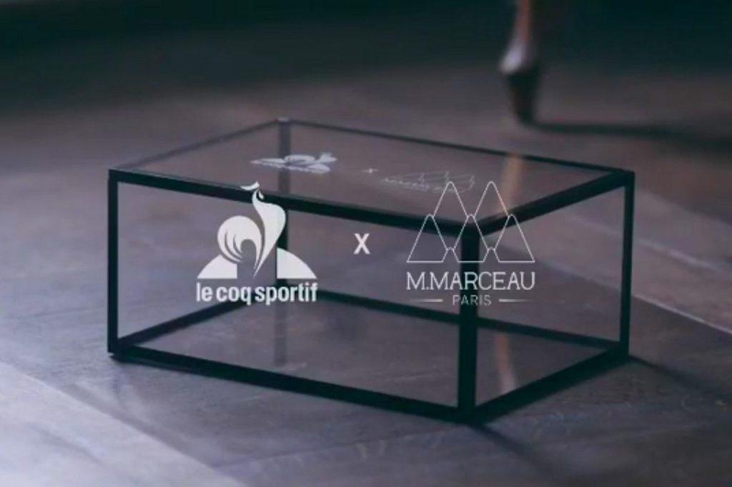 le coq sportif x M. Marceau Paris