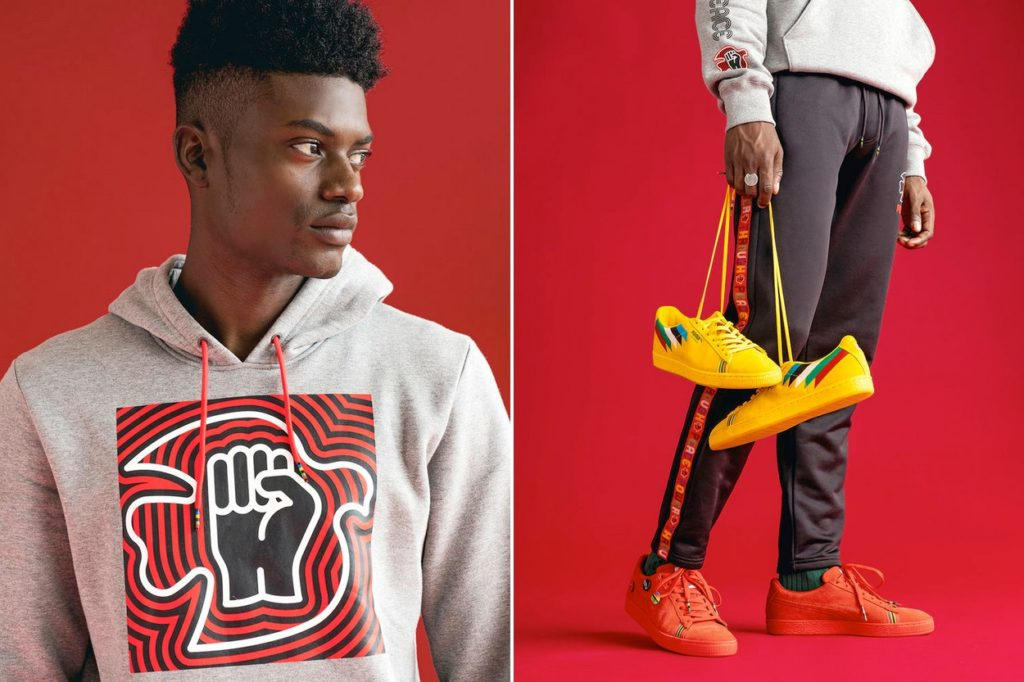 "PUMA a lancé la capsule ""POWER THRU PEACE"""