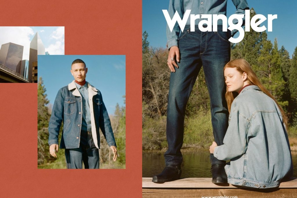 Campagne Wrangler Automne/Hiver 2018