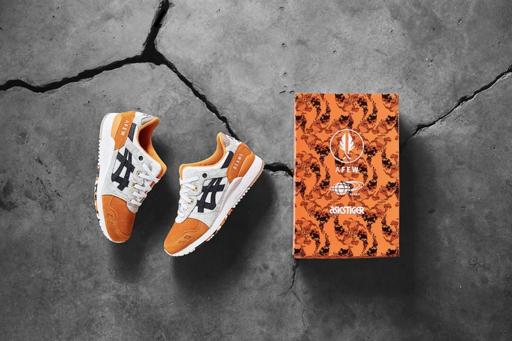 "AFEW x BEAMS x ASICS Tiger GEL-Lyte III ""Orange Koi"""