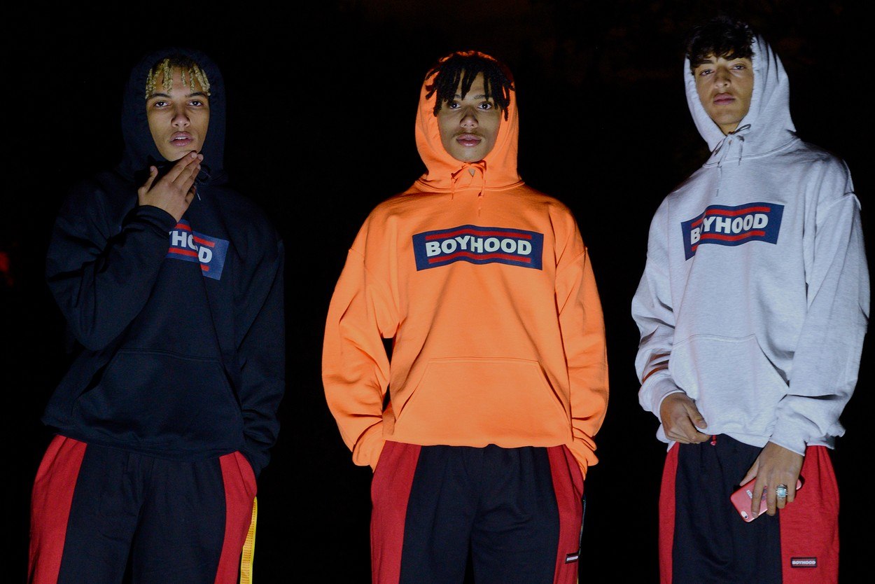 "Collection capsule BOYHOOD ""Glows In The Dark"""