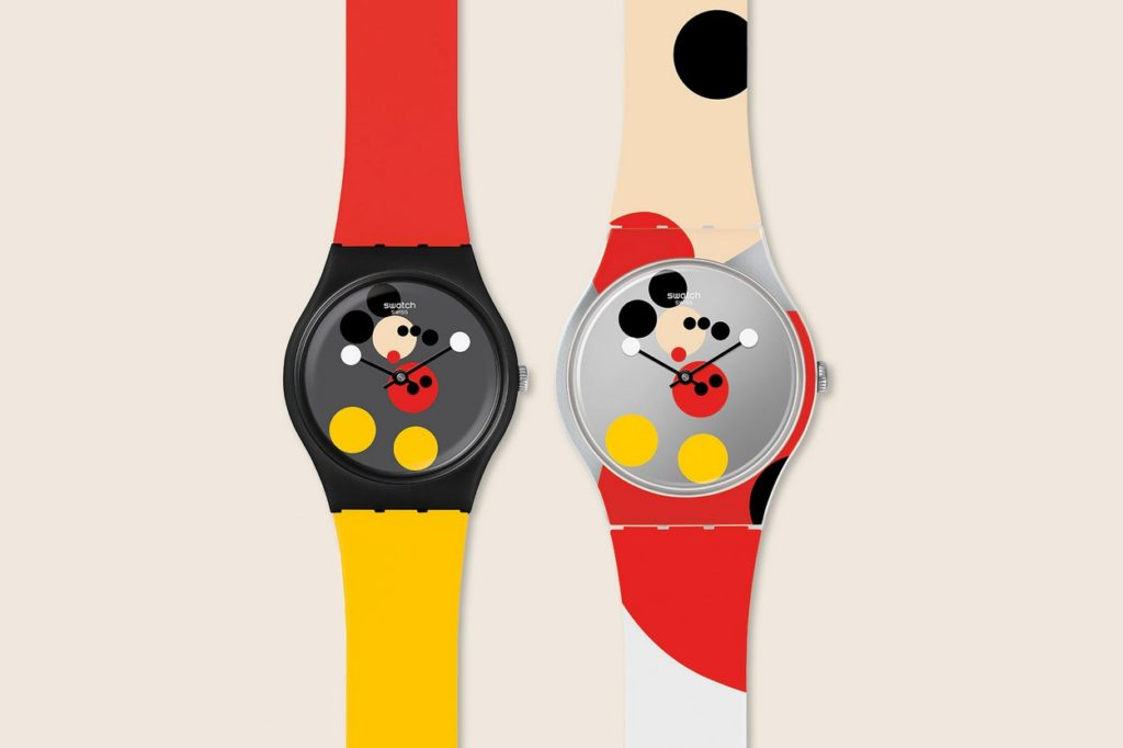 Swatch x Damien Hirst Mickey Mouse Watch