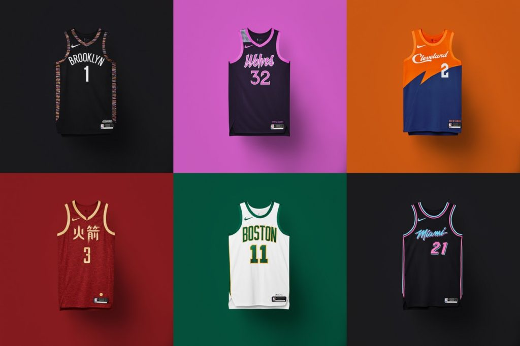 Maillots NBA City Edition