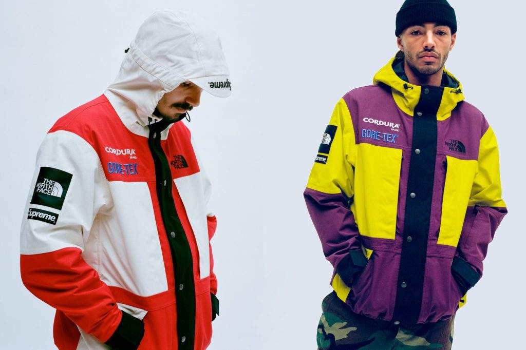 Collection Supreme x The North Face Automne/Hiver 2018