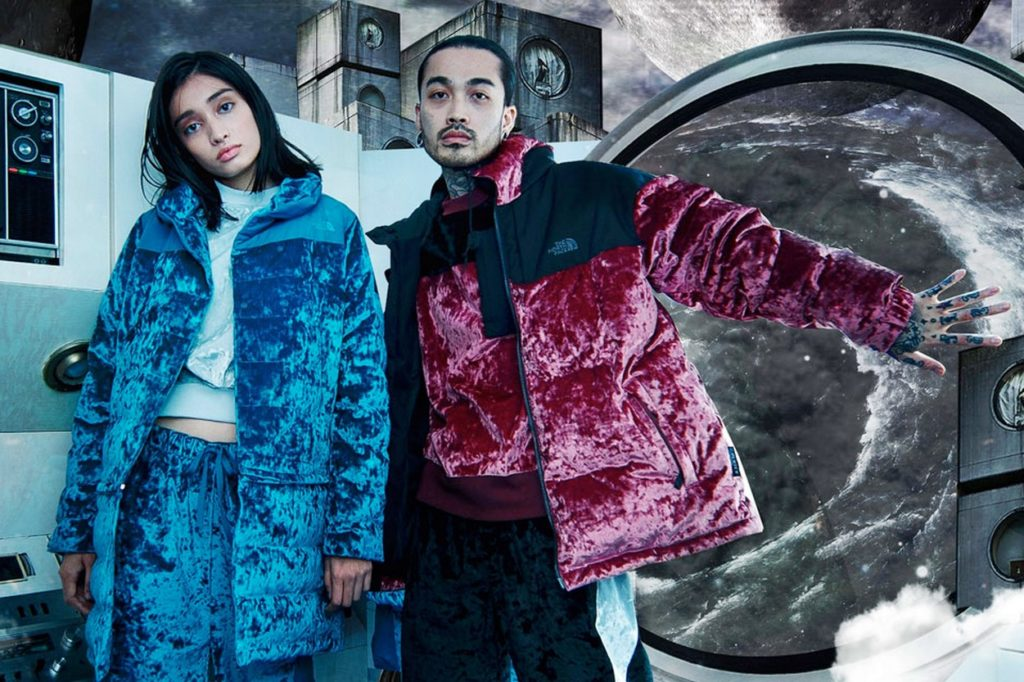 The North Face Velvet Collection
