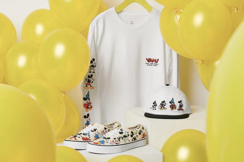 Vans célèbre le 90ème anniversaire de Mickey Mouse avec une nouvelle collection capsule
