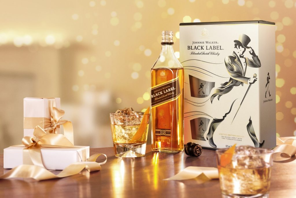 Coffret fêtes 2018 - Johnnie Walker
