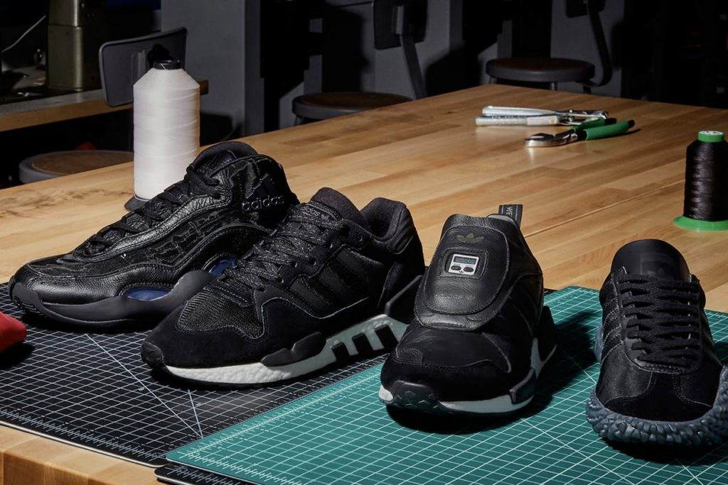 "Pack adidas Originals ""Never Made"" Triple Black"