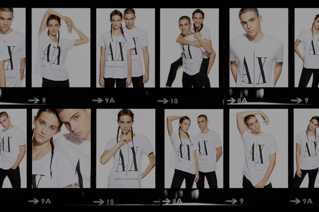 A|X Armani Exchange Icon Tees