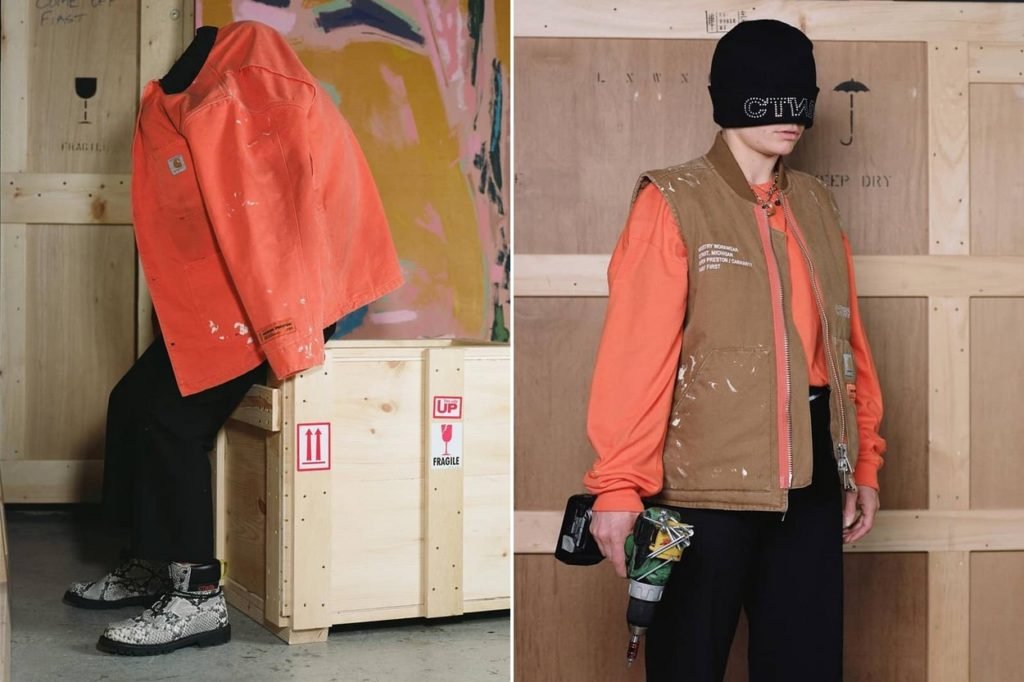 Collection capsule Carhartt WIP x Heron Preston Automne/Hiver 2018