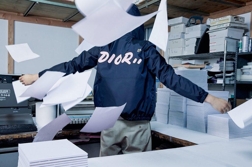 Collection capsule Dior Homme x KAWS Été 2019