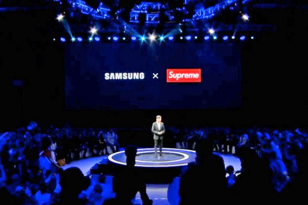 "Samsung annonce une collaboration avec ""Supreme"""