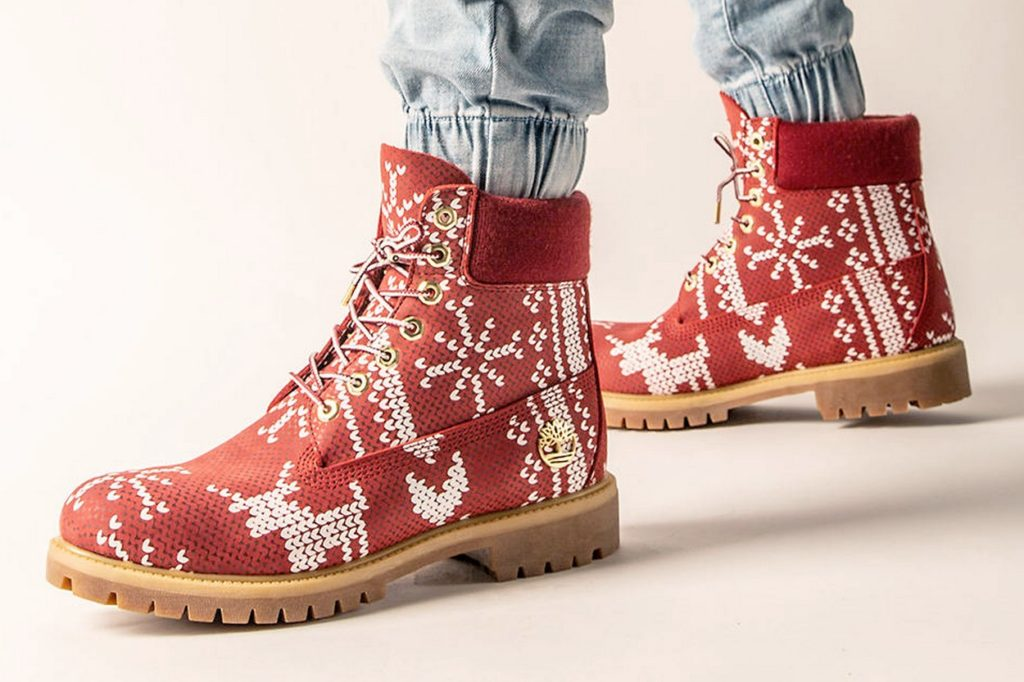 "6-inch boot Timberland ""Ugly Sweater"""