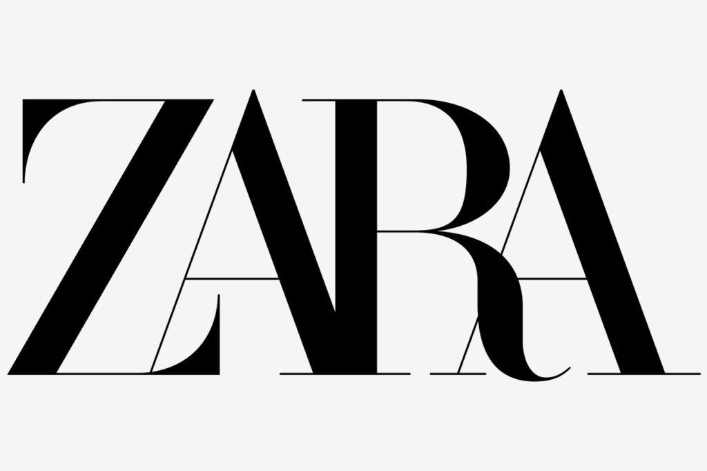 Zara logo 2019