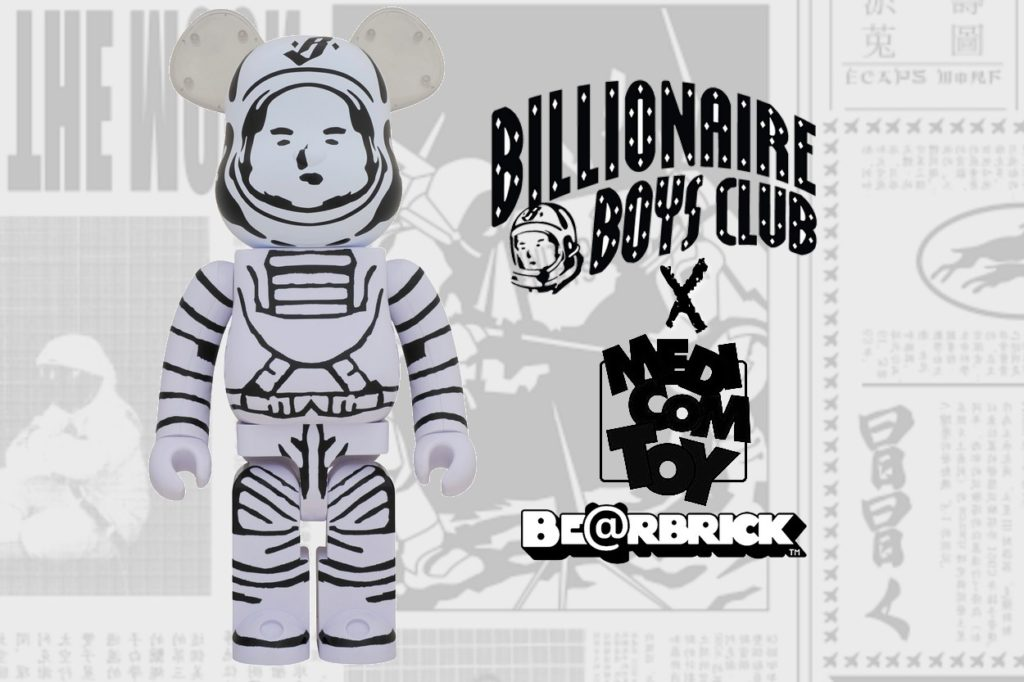 Billionaire Boys Club x Medicom 1000% Astronaut BE@RBRICK