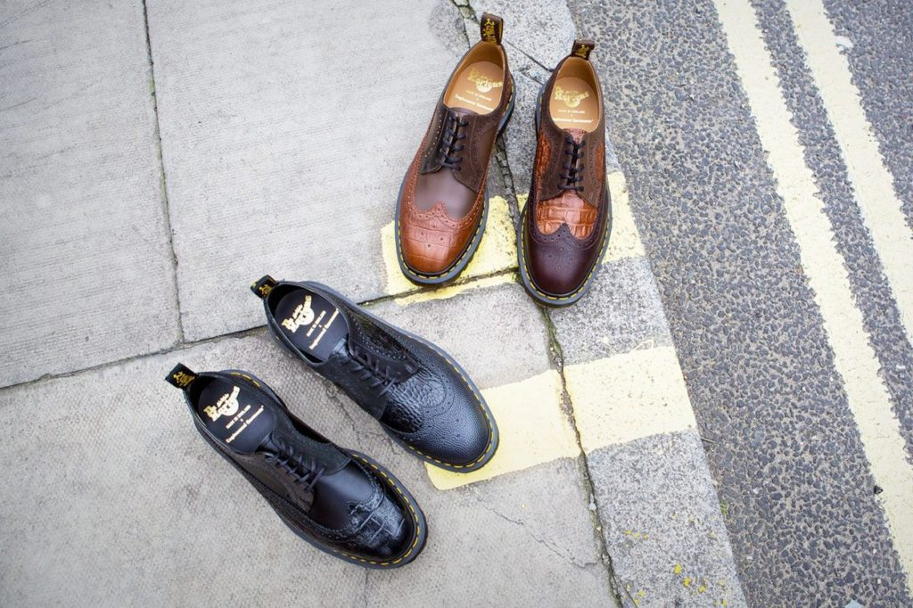 Dr. Martens x Engineered Garments 3989 5-Eye Brogue