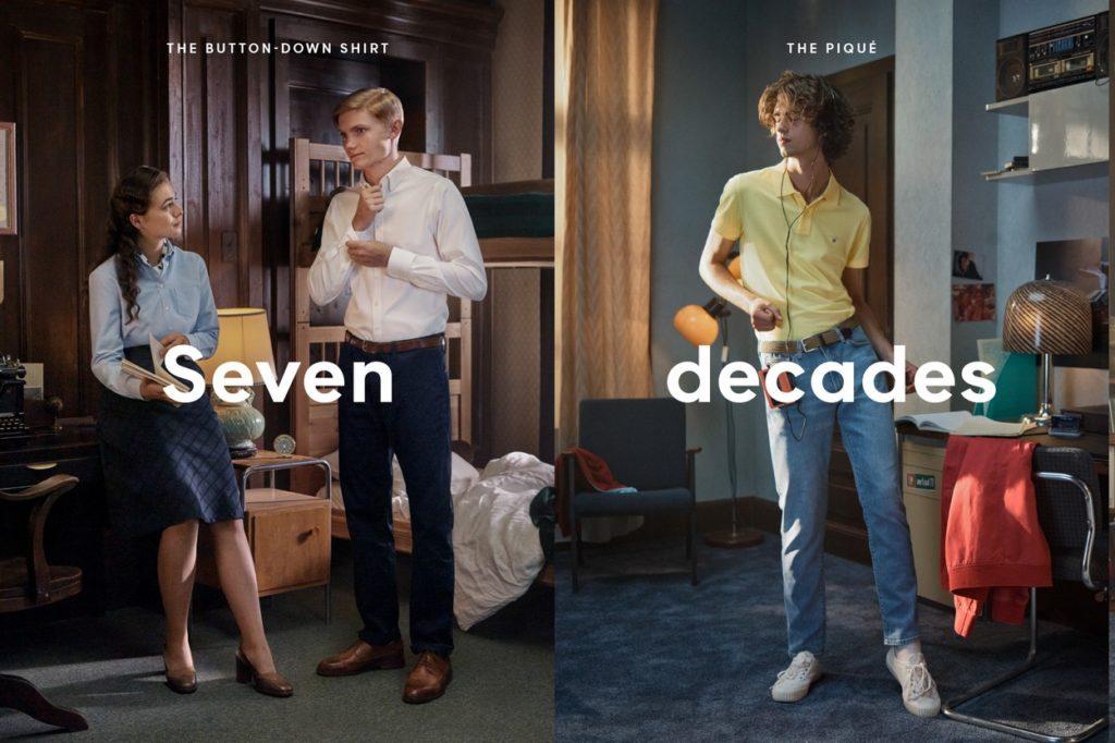 GANT fête ses 70 ans et rend hommage à son héritage américain sportwear