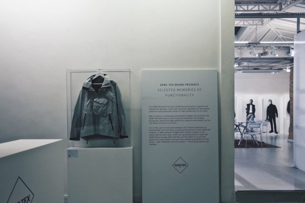 Exposition : GORE-TEX Selected Memories of Functionality