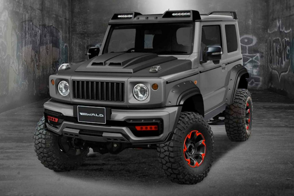 Suzuki Jimny Black Bison Edition par Wald International